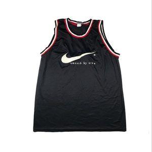 Vintage Nike team swoosh basketball jersey